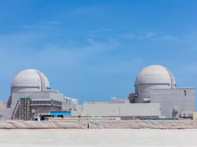 Barakah Nuclear Energy Plant - April 2018